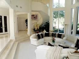 Living Room Tile Floor Traditional Living Room With Sunken Living Room Travertine Tile