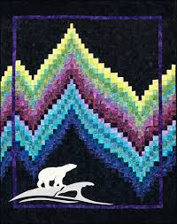Northern Threads - Everything Sewing, Quilting, Embroidery ... & No-Measure Bargello Quilt with Northern Lights Theme Adamdwight.com
