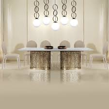 contemporary italian dining room furniture. Unique Room Large Contemporary Italian Rectangular Marble Dining Set And Room Furniture S