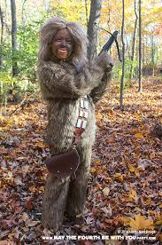 diy chewbacca costume check out all our other star wars costumes on our blog