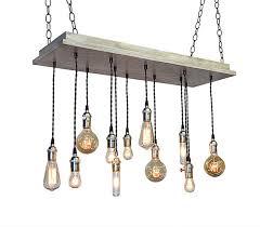 industrial lighting bare bulb light fixtures. Urban Chandelier - Industrial Lighting, Beach House Light Fixture, Rustic Bare Bulb Lighting Fixtures I