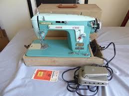White Sewing Machine Case