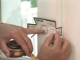 how to install a deadbolt lock how