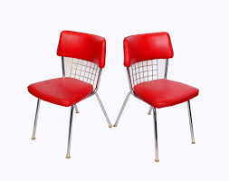chrome dinette chairs. chrome dinette chairs for best set of red seats howell modern metal p