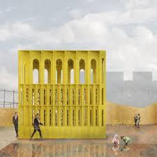 architecture yellow. newhorizonslfaredyellowpavilionhallmcknight_taka architecture yellow t