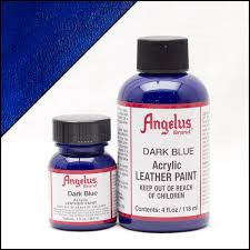 Angelus Dark Blue Paint