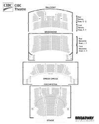 Cibc Seating Chart With Seat Numbers Valid Chicago Theater Seat Chart Chicago Theatre Seating