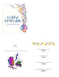 Free Printable Birthday Invitation Templates For Kids Party Invitations For Kids Bishops Corner Web