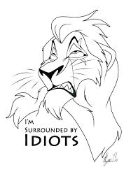 The Best Free Lion King Coloring Page Images Download From 4830