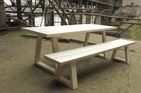 2 m table and 2 2 m bench