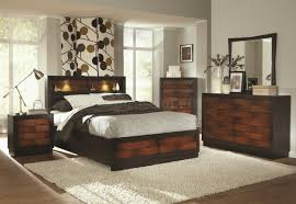 Modern Bedroom Collection Compact Black King Size Bedroom Sets