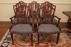 Upscale Resale CT  Baker Historic Charleston Collection Shield - Shield back dining room chairs