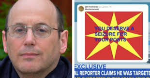 Maryland Man Charged After Tweet Triggers Reporter s Seizure.