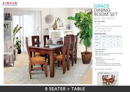 grace dining room suit 8 seater 01
