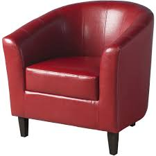 livingroom gorgeous red leather tub chairs chair nz faux real swivel and footrest christopher knight