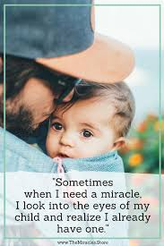 Inspirational Quotes About Babies Beauteous 48 Baby Miracle Quotes That Will Make You Smile The Miracles Store
