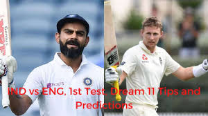 The england tour of india in 2021 includes five t20s, three odis and four tests while india tour of england includes five test matches. India Vs England 1st Test Dream 11 Prediction Best Picks For Ind Vs Eng Match At Chennai