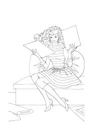 Barbie Coloring Page Barbie Coloring Pages Printable Utibaamericascom
