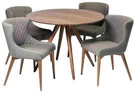 dining tables walnut dining table and 6 chairs round room 3