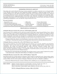 Physician Assistant Resume Template Simple Physician Assistant Resume Templates Resume Example