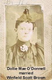 Dollie Mae (O'Donnell) Brown (1870-1931) | WikiTree FREE Family Tree