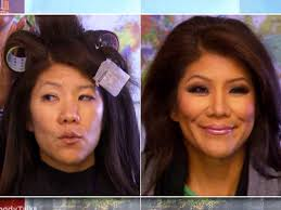 julie chen tyra banks and chrissy teigen go makeup free on air see their transformations