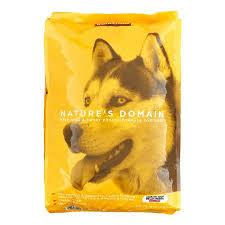 Kirkland Puppy Food Chart Costco Kirkland Signature Natures Domain Beef Meal Sweet Potato Formula Dry Dog Food 35 Lb