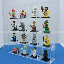 Lego Display Stands Desktop Acrylic Lego Display Case Plexiglass Doll Mini Figtures 87