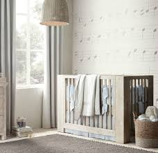gray nursery furniture. View In Gallery Rustic Modern Crib From Restoration Hardware Gray Nursery Furniture