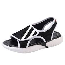 Women <b>Flat</b> Bottom Sport Sandals NDGDA Ladies <b>Summer</b> Shoes ...