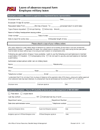 9+ Leave Request Form Examples - Pdf