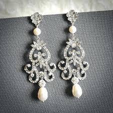 chandelier style earrings plus style chandelier wedding earrings vintage style chandelier earrings image design