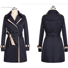 2017 new hot spring autumn overcoats women s trench coats long sleeve fashion turn down collar