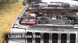 interior fuse box location 1993 1998 jeep grand cherokee 1998 1998 jeep grand cherokee tsi 4 0l 6 cyl fuse engine check