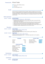 Good Cv Examples 2020 Resume Examples By Real People Kitchen Designer Resume