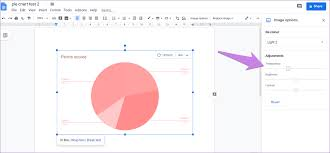 Google Charts Transparent Background How To Put Pie Chart In Google Docs And 9 Ways To Customize It