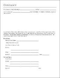 Simple Service Contract Basic Service Contract Template
