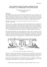 Centrifugal Compressor Impeller Design Pdf Pdf New Version Of The Universal Modeling For Centrifugal