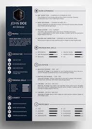 Creative Resume Templates Word Free Creative Resume Templates Word