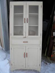 Vintage Antique 1930s 1940s Kitchen Cabinet Cupboard Pantry Pantry