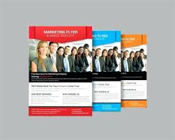 Blue Brochure Flyer Layout Template Size Front And Back Business ...