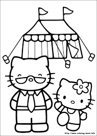 60 hello kitty pictures to print and color. Hello Kitty Coloring Picture