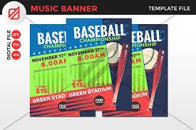 Free Baseball Flyer Template Anti Gravity Style Baseball Flyer Template