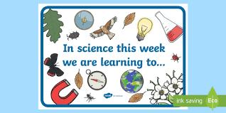 Editable In Science This Week Display Poster
