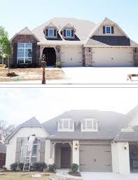 what a difference this painted brick made on this house i love it read