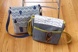 Messenger Bag Pattern Extraordinary Campfire Messenger Bag PDF Pattern Noodlehead