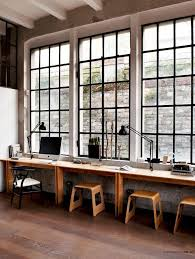 loft style office. look this is the ideal office according to science and design loft style