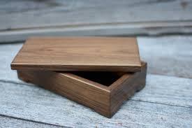 walnut keepsake box valet box small kbwalnutsmall