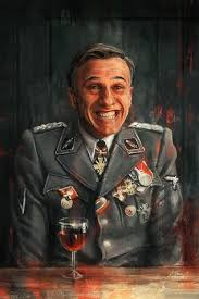 best inglourious basterds images quentin hans landa christoph waltz inglourious basterds by alice x zhang
