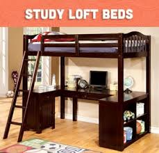 cool loft beds with desk.  With Loft Beds For Kids  Shop Bed With Desk Full Size Bed  Stairs U0026 More Free Shipping On For Cool With Desk A